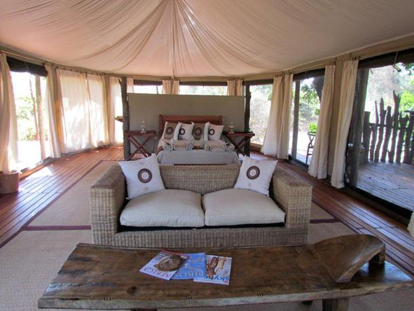 Kanga Bush Camp - Bedroom